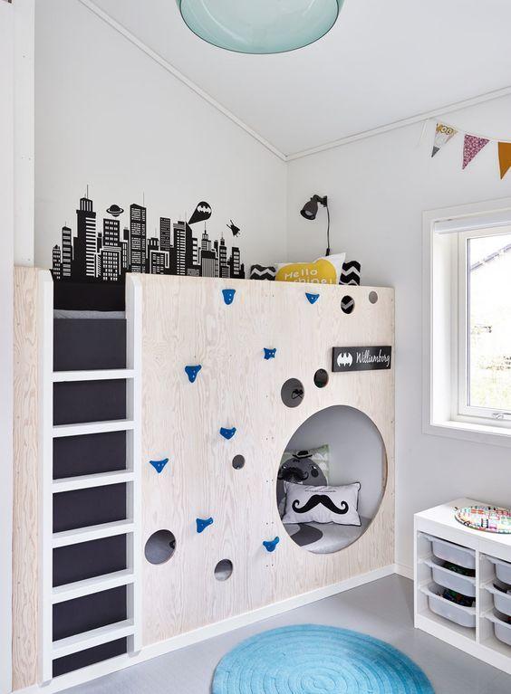 Πως αξιοποιουμε ένα παιδικο δωματιο με μεγαλο υψος;