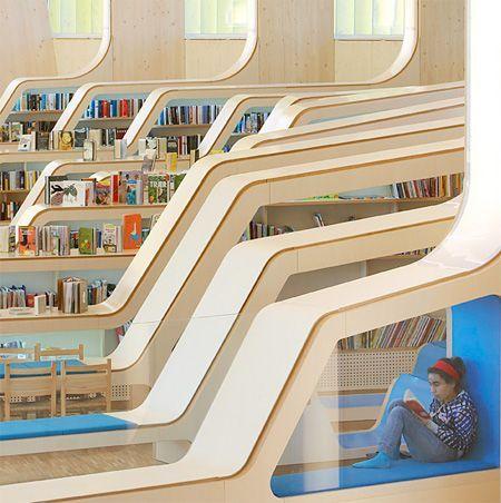 Book-friendly: Δημοσια Βιβλιοθηκη, Νορβηγια, Ηelen & Hard Architects