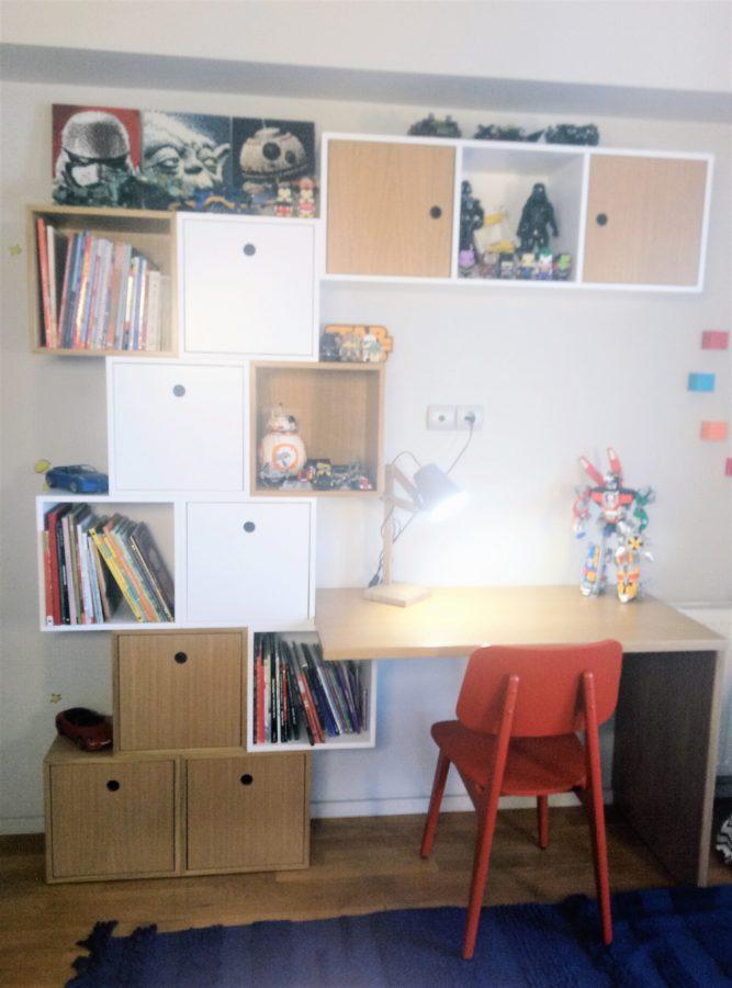 BabyEcoDesign Project: Ανακαινιση παιδικου δωματιου ενός αγοριου προσχολικης ηλικιας