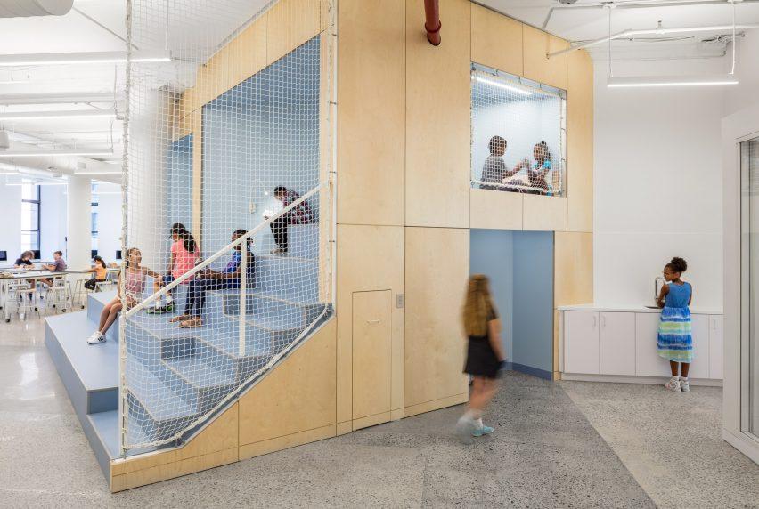 Ένα σχολειο στη Νεα Υορκη