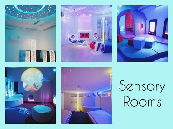 Sensory Rooms – Χώροι που βοηθούν στην αισθητηριακή ολοκλήρωση των παιδιων με ειδικές ανάγκες και αναπηρίες