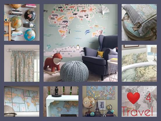Travel Décor στα Παιδικά Δωμάτια