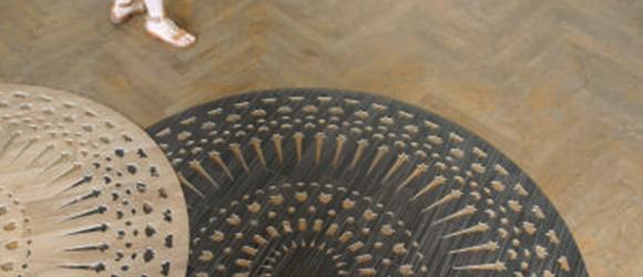 Χαλί από ανακυκλωμένο βινύλιο