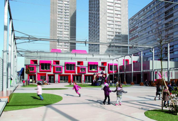 Ανακαινιση σε παιδικο σταθμο στο Παρισι: υψηλοι περιβαλλοντικοι στοχοι