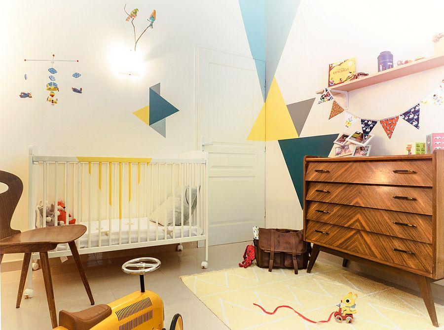 Ένα art-deco βρεφικό δωμάτιο…