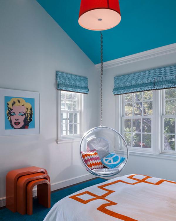 Ο προσωπικός τους ουρανός: υπέροχες οροφές σε εξοχικά παιδικά δωμάτια!