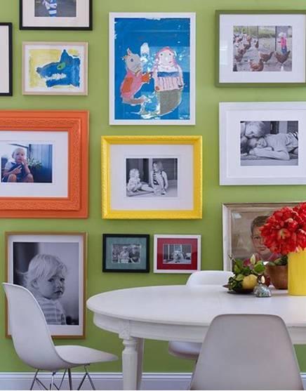 Φωτογαφίες και πίνακες ζωγραφικής των παιδιών