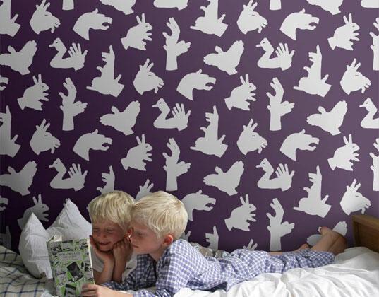 Οικολογικές ταπετσαρίες και αυτοκόλλητα για παιδικά δωμάτια