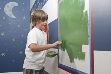 Αλλάξετε μόνοι σας ύφος στους παιδικούς χώρους με τις κατάλληλες τεχνοτροπίες