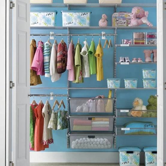 3 κινήσεις για μια τακτική 'πράσινη' παιδική ντουλάπα