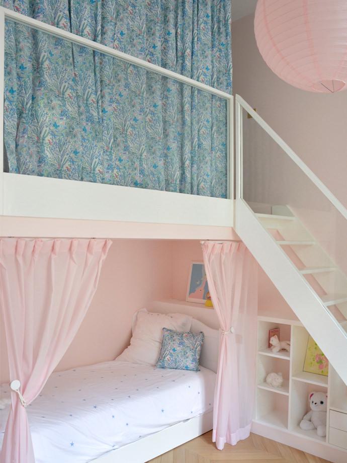 Tρυφερά παιδικά δωμάτια για κορίτσια