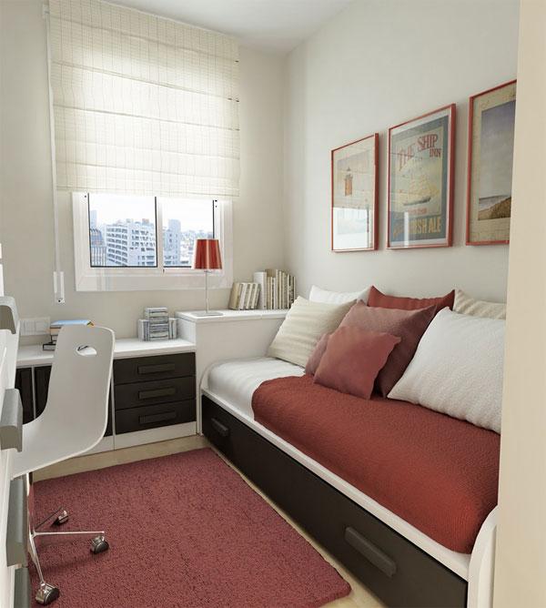 Δημιουργικές ιδέες για μικρά δωμάτια