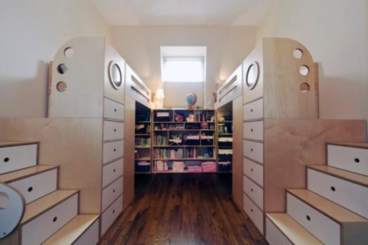 Πολυλειτουργικοί χώροι: όταν το παιδικό δωμάτιο έχει πάνω από μια λειτουργιές