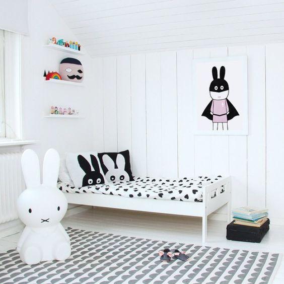 Παιδικά δωμάτια…στα λευκά!
