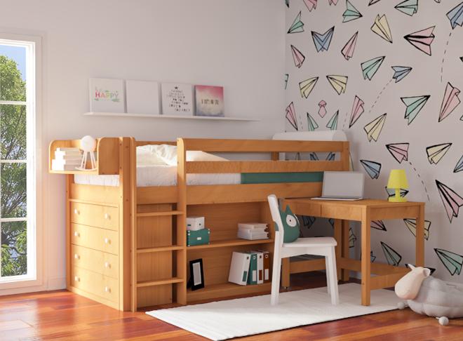 Mικρά & Μεγάλα Μυστικά για Γραφεία σε Μικρά Παιδικά Δωμάτια