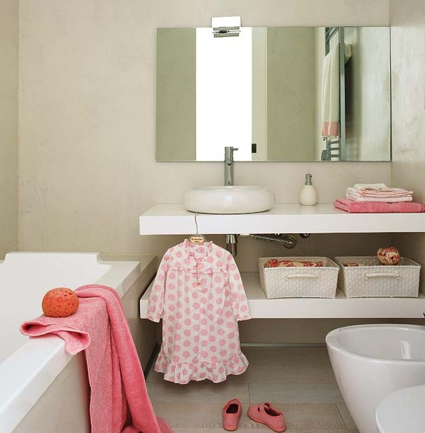 5 απαραίτητα αξεσουάρ για ένα λειτουργικό παιδικό μπάνιο